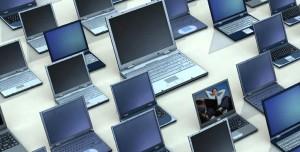 ordenadores portátiles una extensión de la oficina