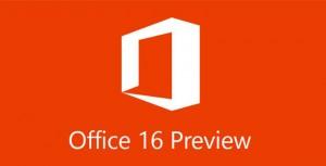 Office 16 adelanto de novedades