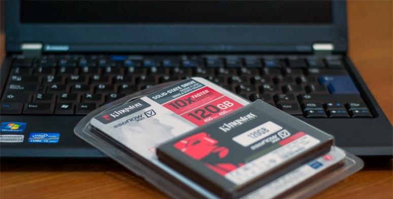 instalar discos SSD