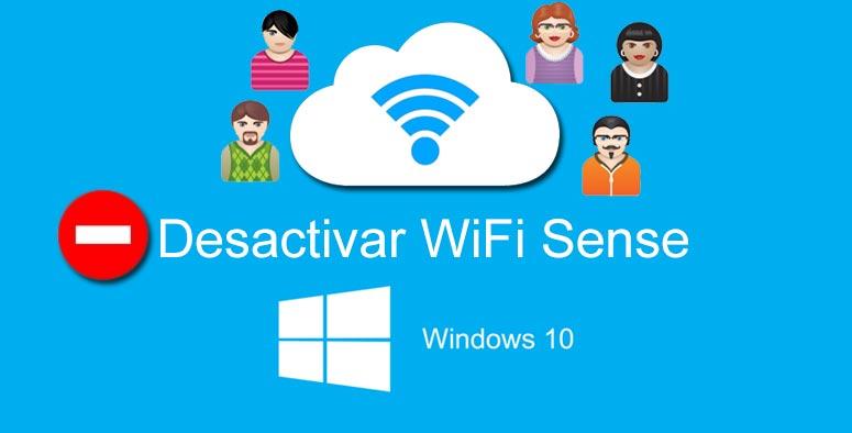 desactivar WiFi Sense