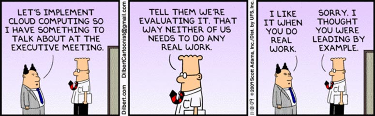 Humor cloud computing work
