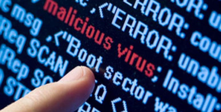 amenaza informática mediante códigos (virus) maliciosos