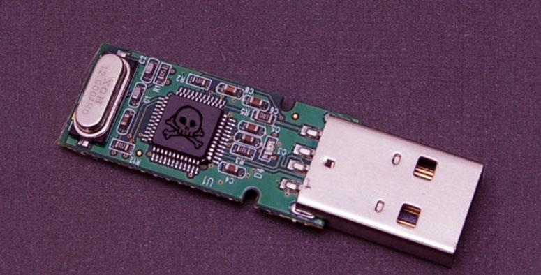 vulnerabilidad hardware puerto USB