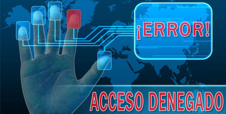 Mejorar la seguridad informática y control de accesos con sistemas biométricos