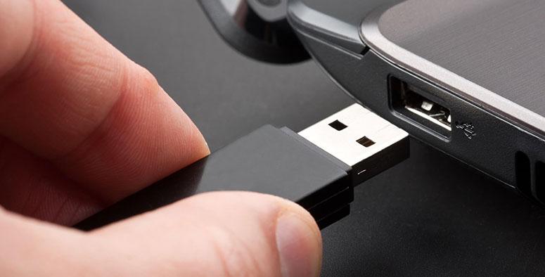 Los USB pueden infectar el ordenador