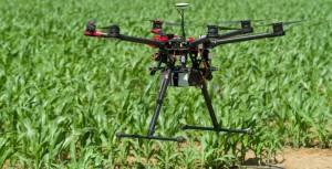 Los drones graban volando
