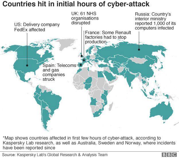 mapa ciberataque mundial