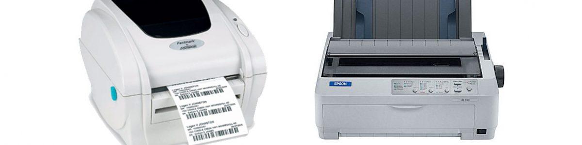 Impresoras térmicas. Diferencia con las matriciales