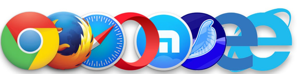 Los navegadores web más usados de 2017