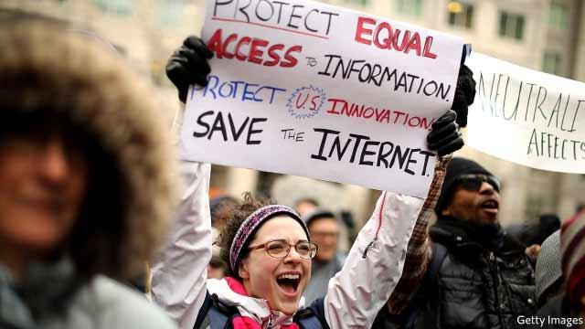 Acceso a internet en USA