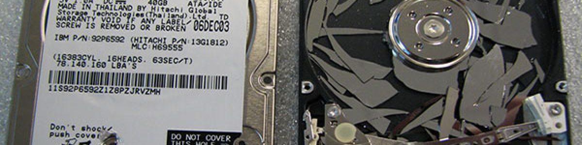 Cómo recuperar los datos de un disco duro defectuoso
