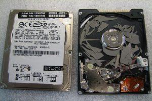 Empresa de reparación de discos duros