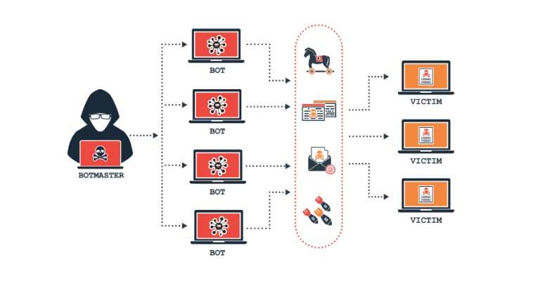 Ataques DDOS- red zombi