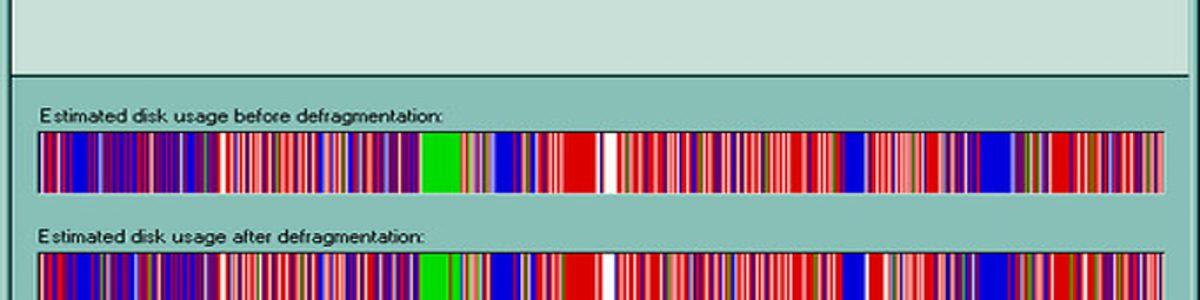 Cómo hay que desfragmentar un disco duro HDD