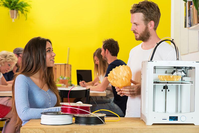 Cómo funcionan las impresoras 3D